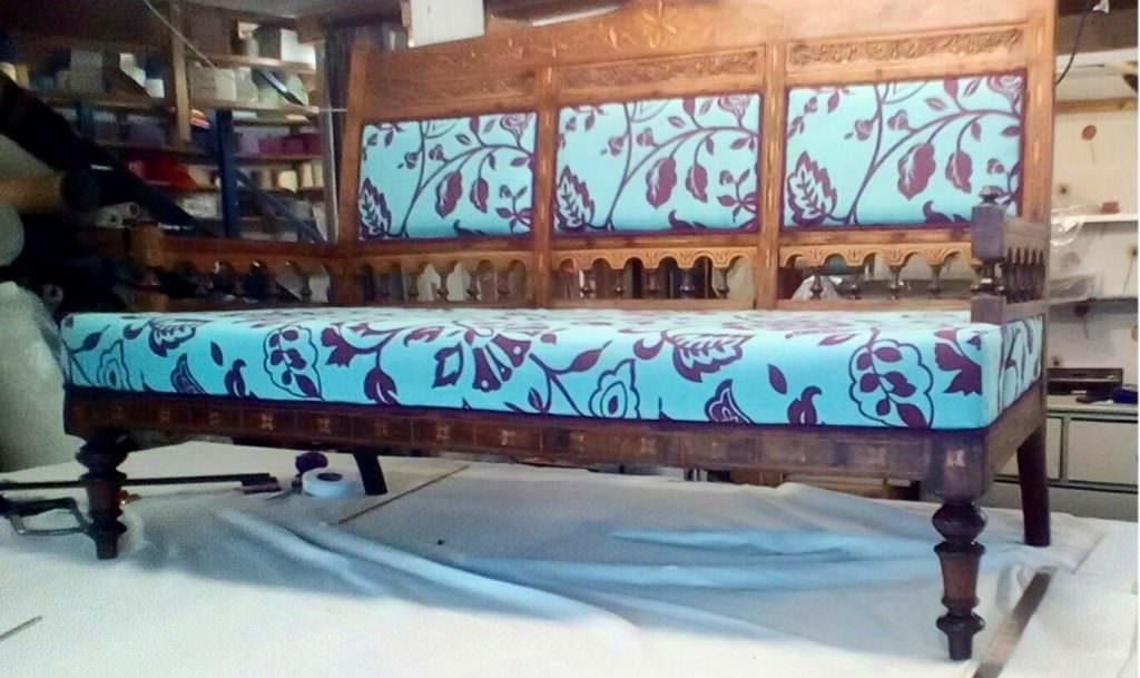 Bespoke Bench Upholstery Blind company Nottingham