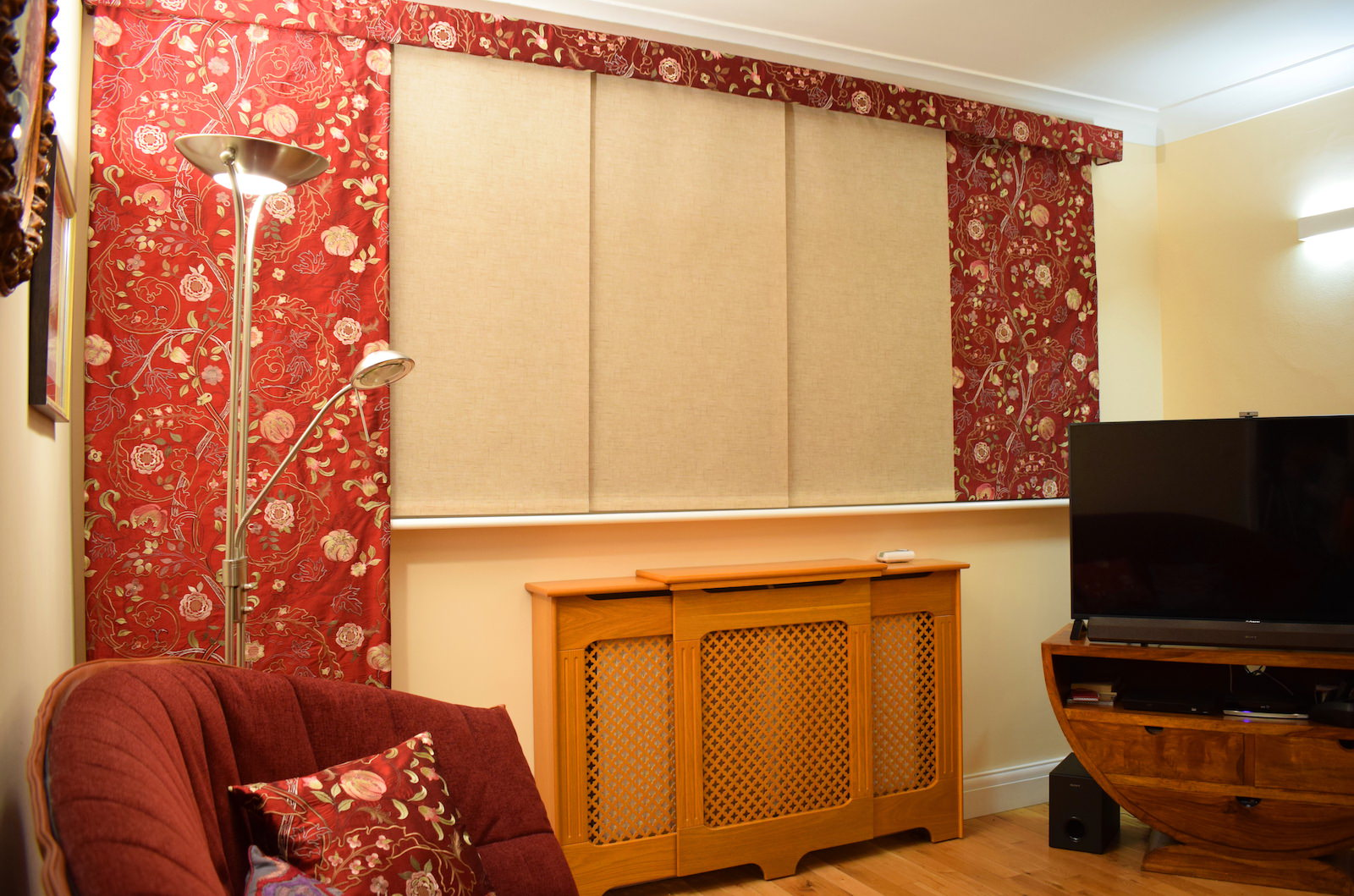 Curtain Panel Blinds Highbury Design Blind Specialists