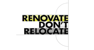 Renovate don't relocate icon
