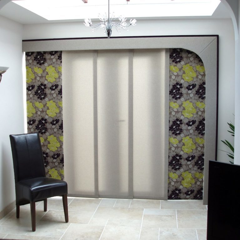 Curtain Panel Blinds