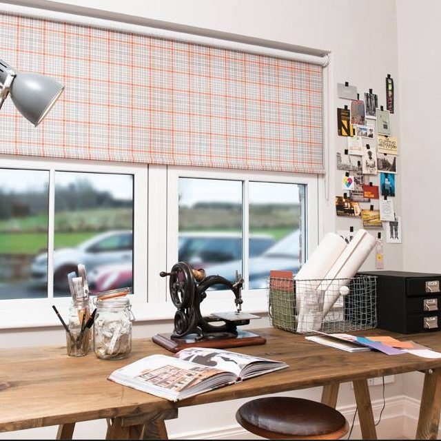 Patterned Roller Blinds Blind Company Nottingham
